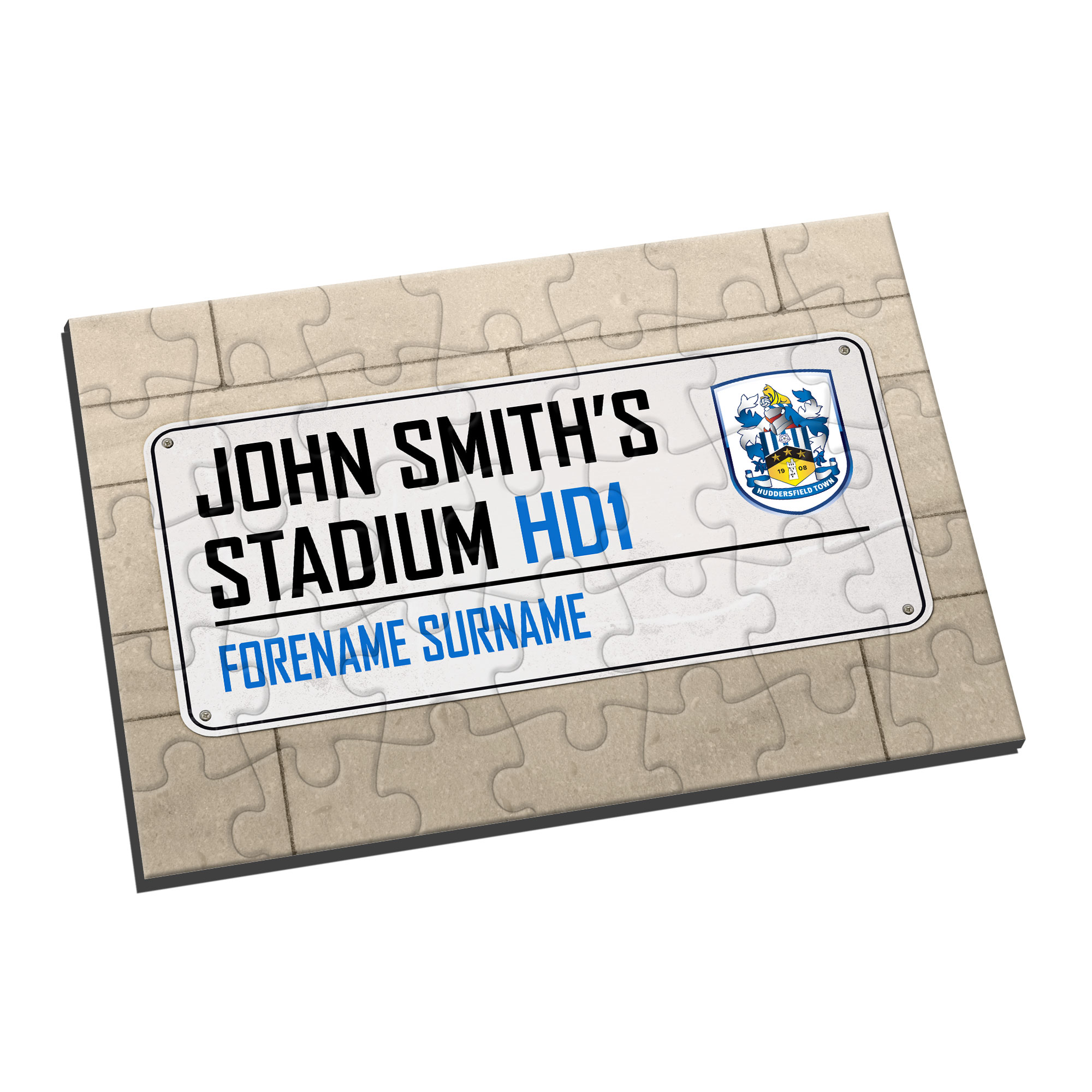Huddersfield Town Street Sign Jigsaw