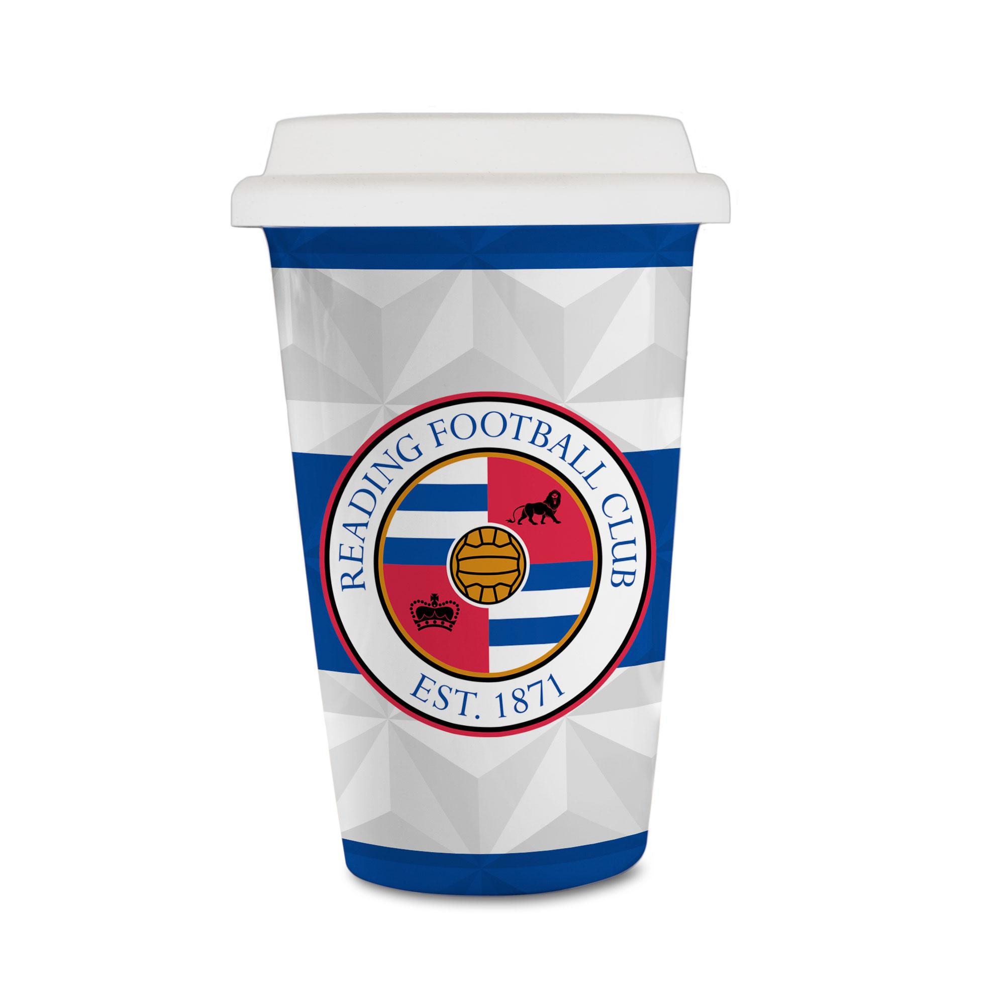 Reading FC Crest Reusable Cup
