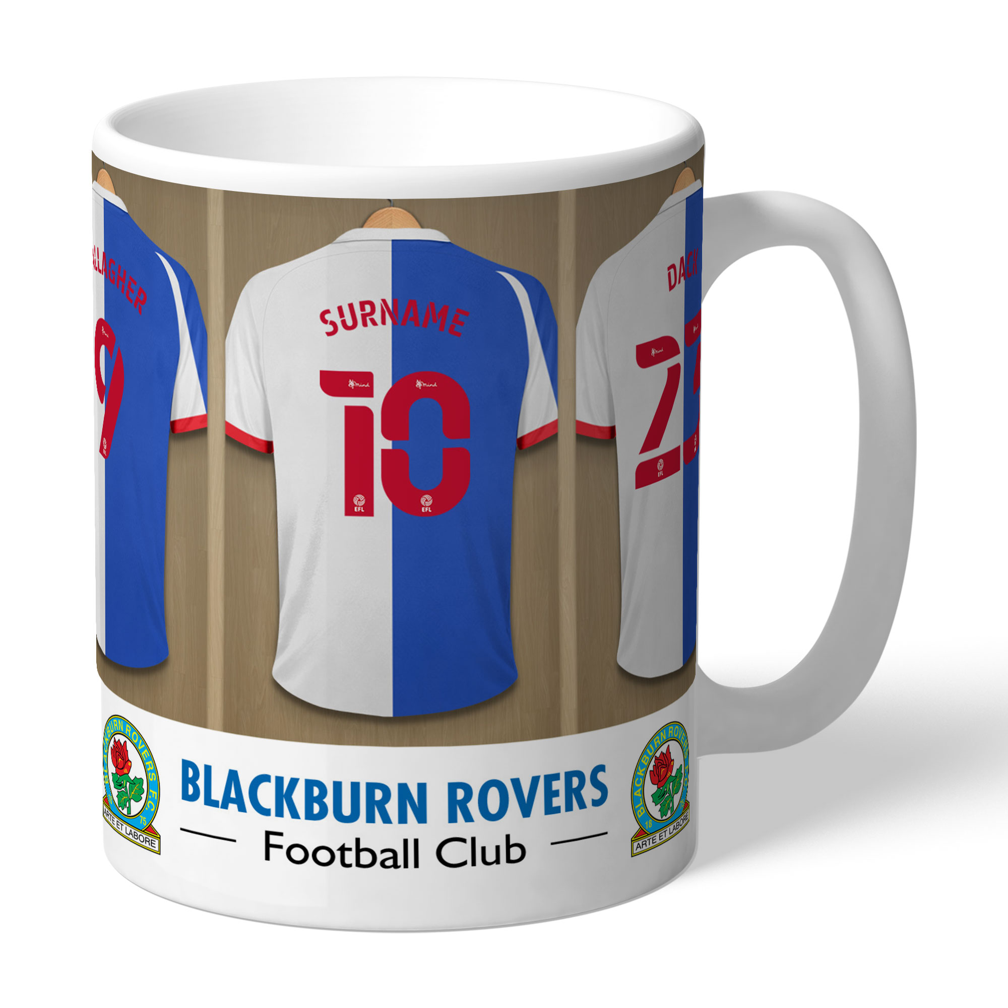 Blackburn Rovers FC Dressing Room Mug