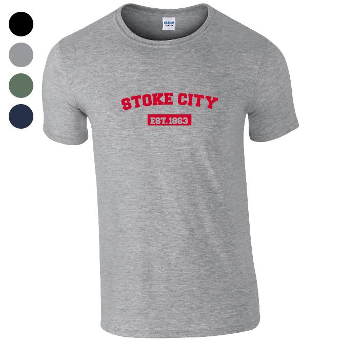 Stoke City FC Varsity Established T-Shirt