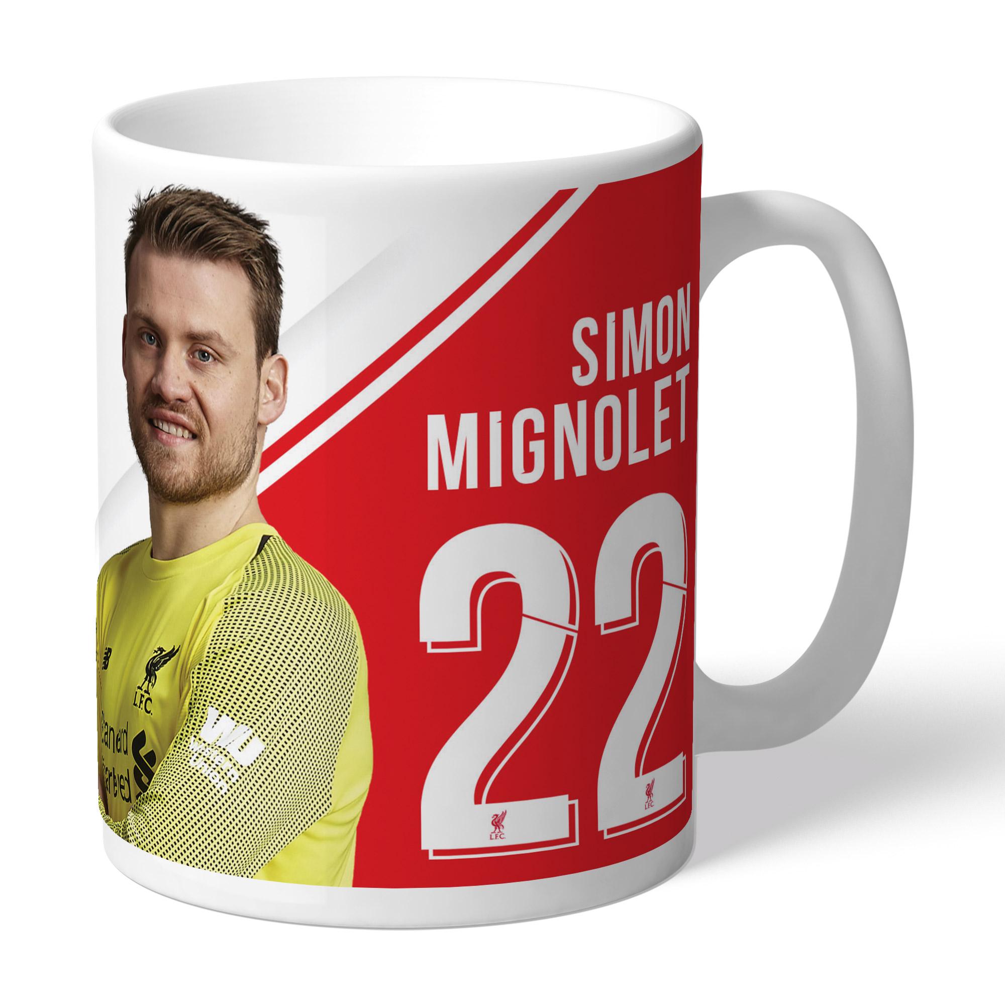 Liverpool FC Mignolet Autograph Mug