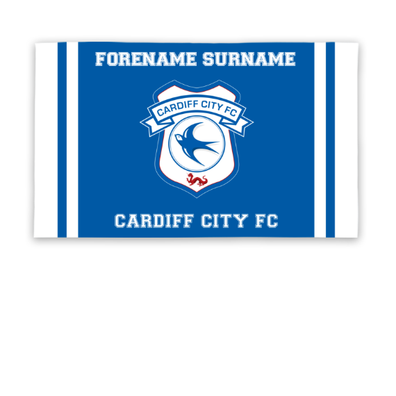 Cardiff City FC Crest 5ft x 3ft Banner