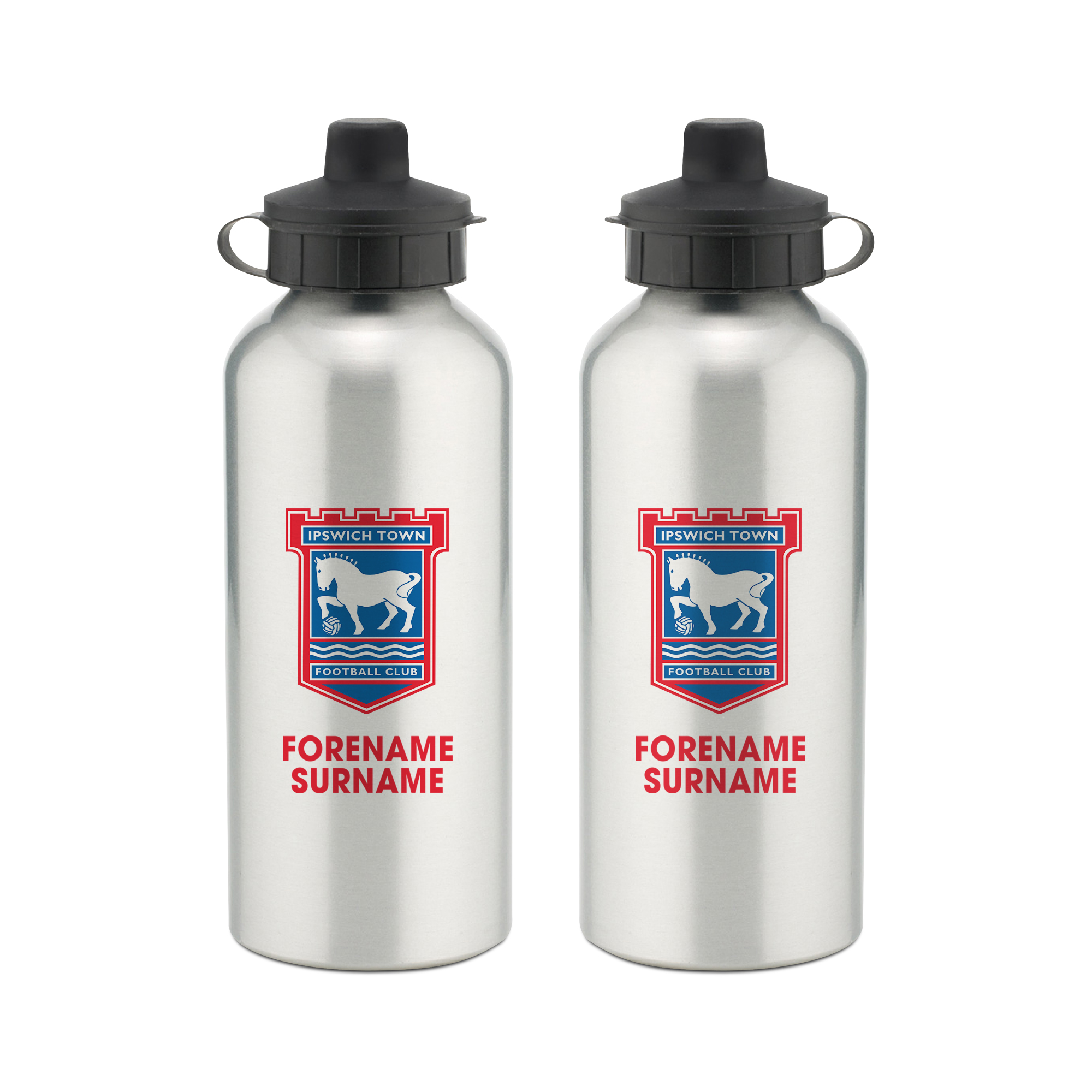 Ipswich Town FC Bold Crest Water Bottle