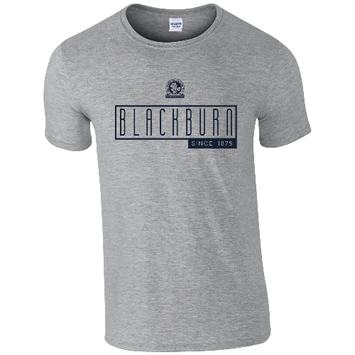 Blackburn Rovers FC Art Deco T-Shirt