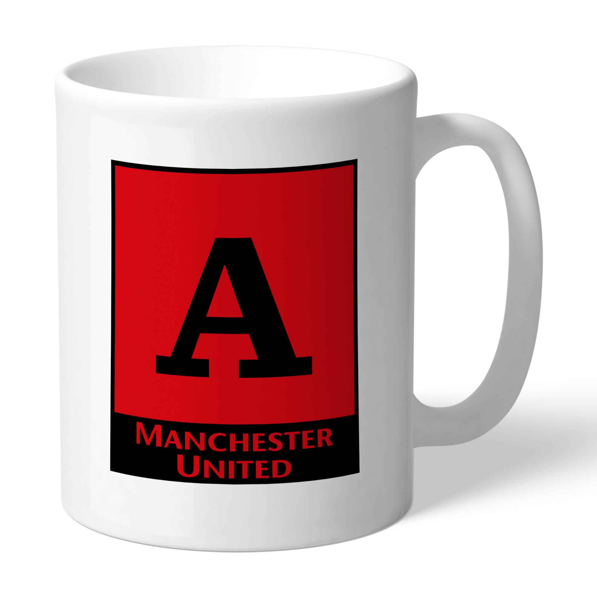 Manchester United FC Monogram Mug