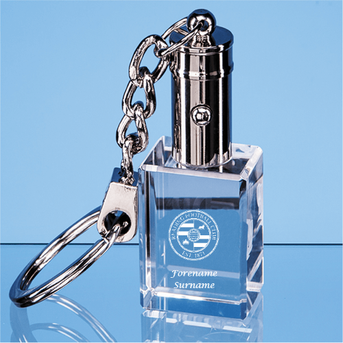 Reading FC Crest LED Keyring