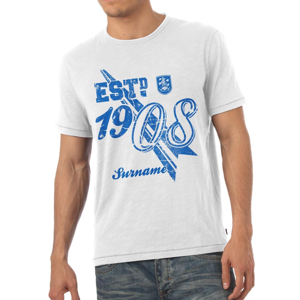 Huddersfield Town Mens Established T-Shirt