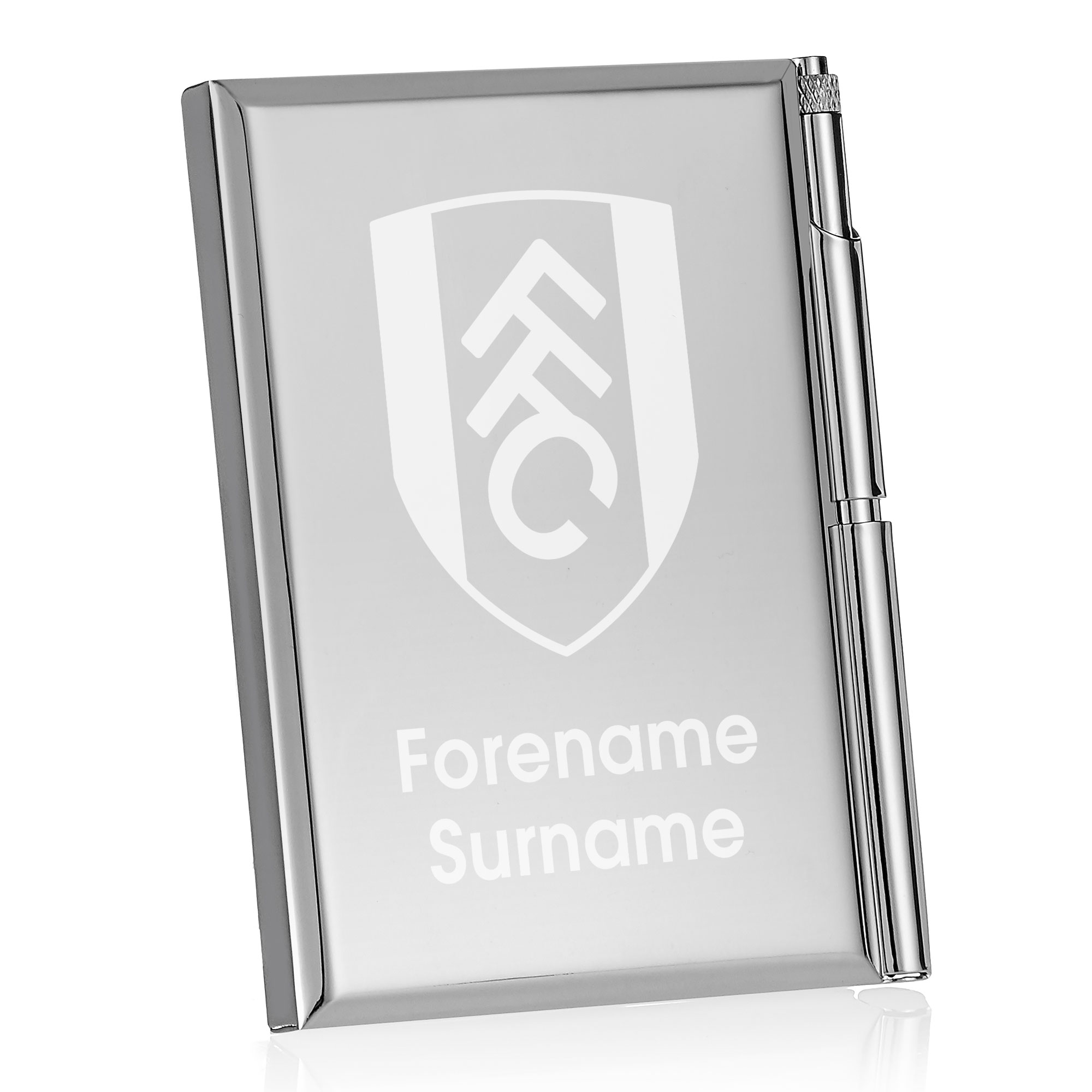 Fulham FC Crest Address Book