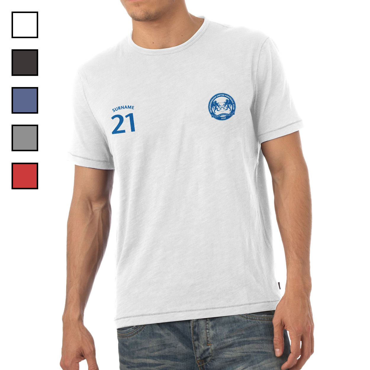 Peterborough United FC Mens Sports T-Shirt