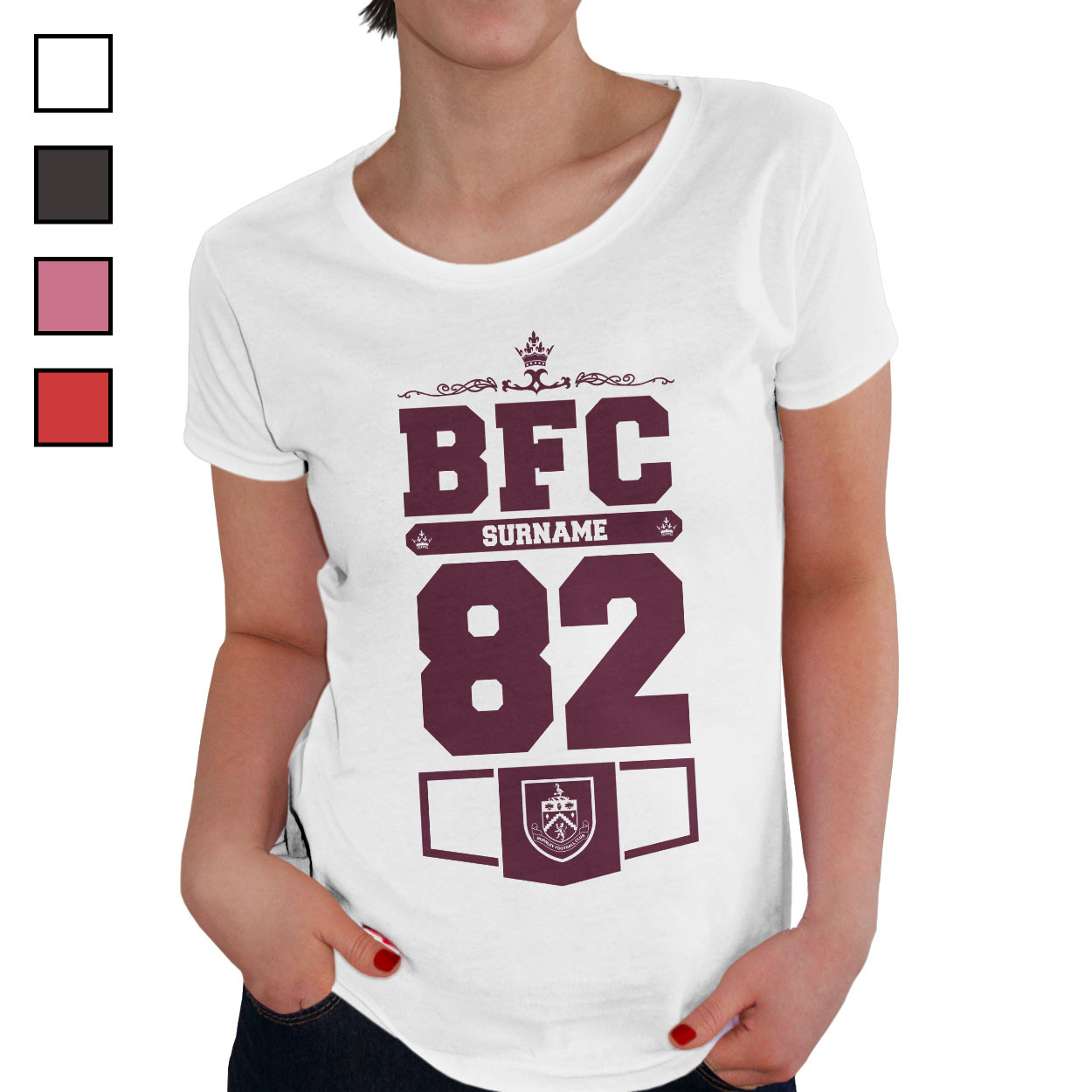Burnley FC Ladies Club T-Shirt