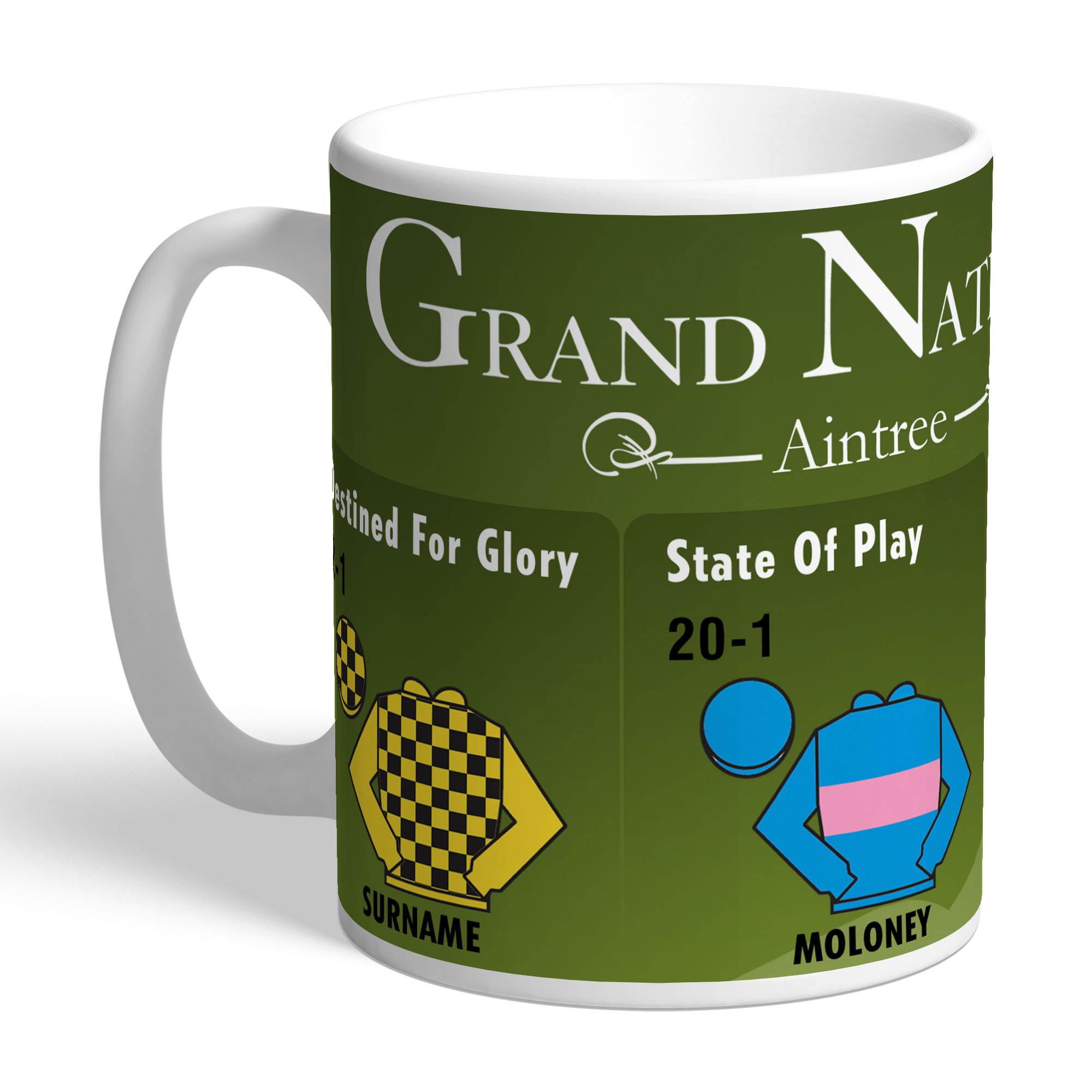 Personalised Grand National Mug