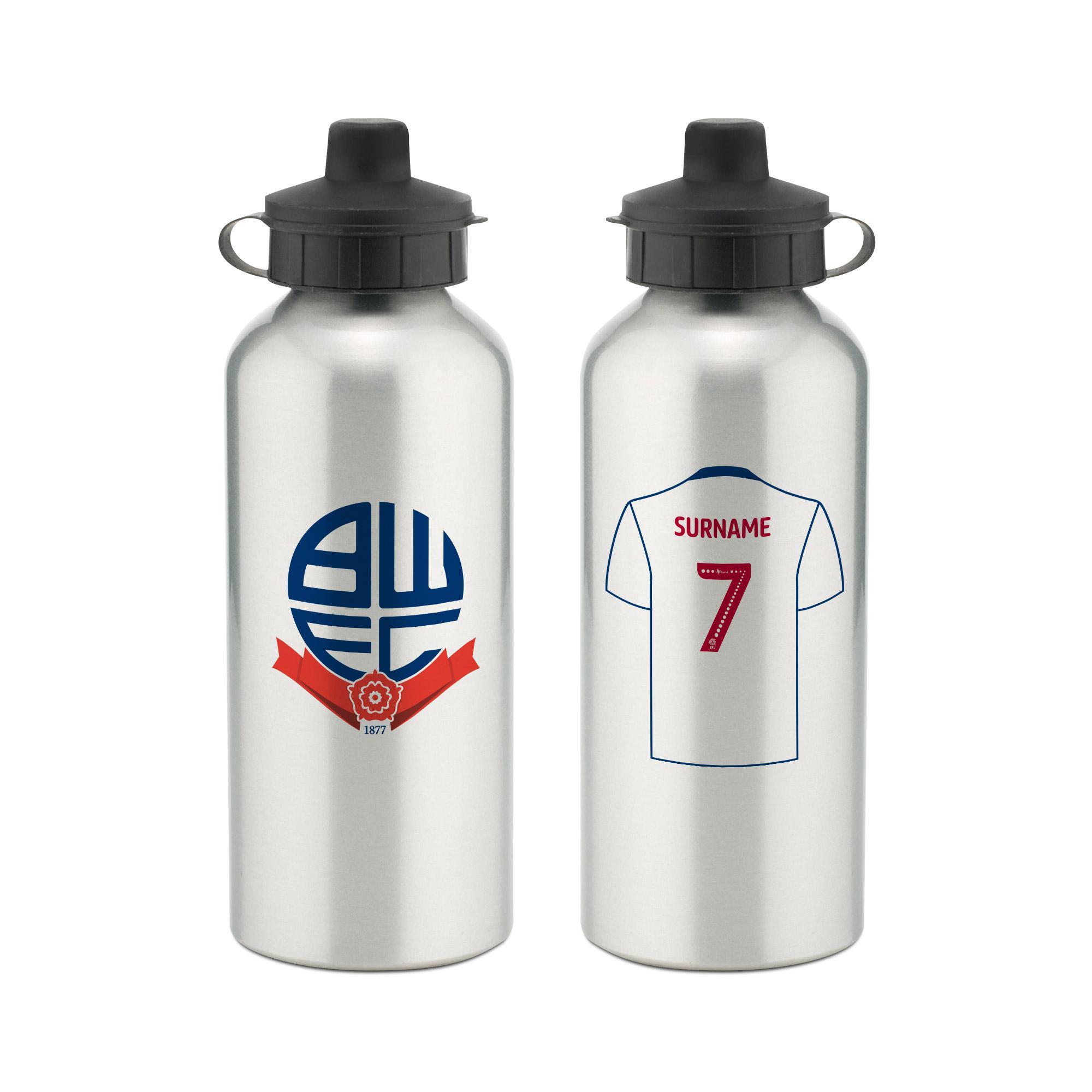Bolton Wanderers FC Aluminium Water Bottle