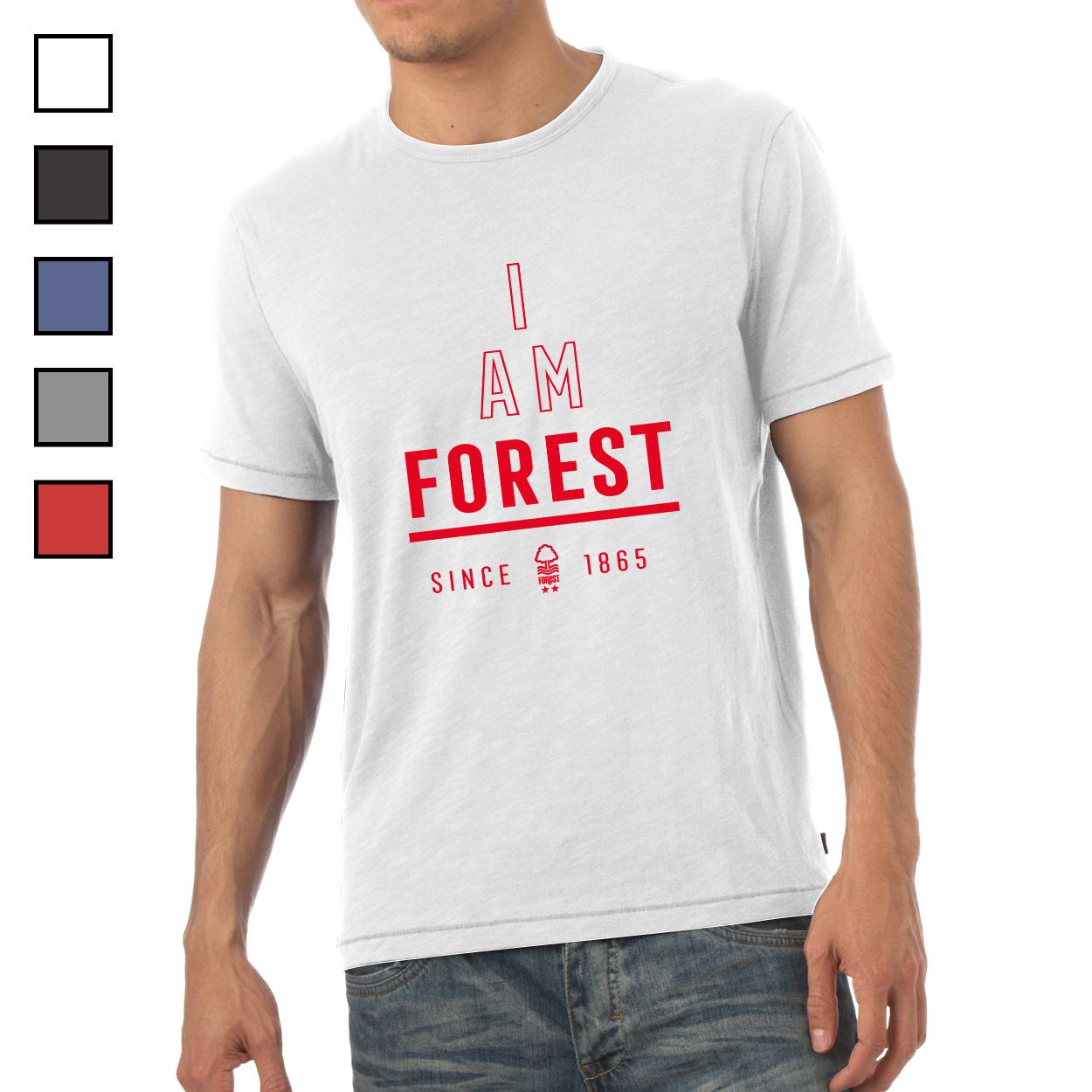 Nottingham Forest FC I Am Mens T-Shirt