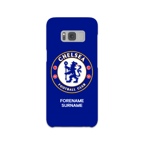 Chelsea FC Bold Crest Samsung Galaxy S8 Phone Case