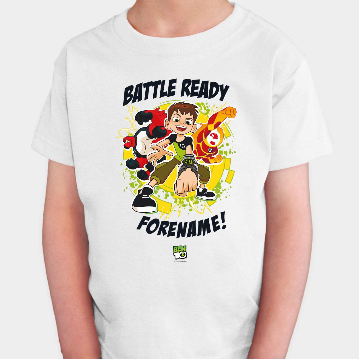Ben 10 Battle Ready One Kids T-Shirt