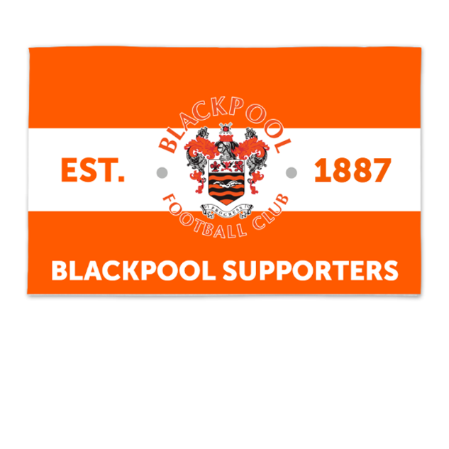 Blackpool Supporters 8ft x 5ft Banner
