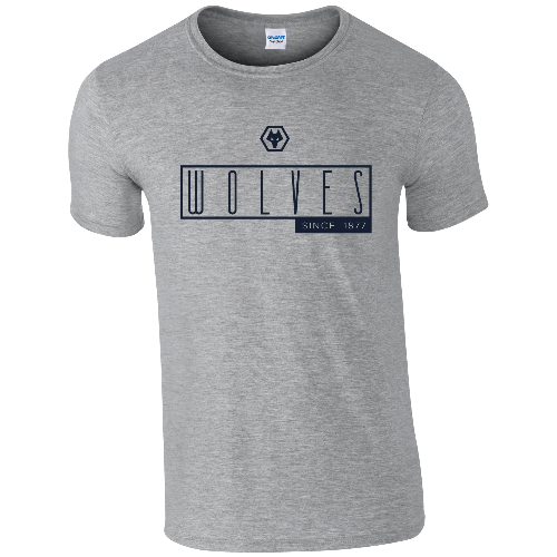 Wolves Art Deco T-Shirt