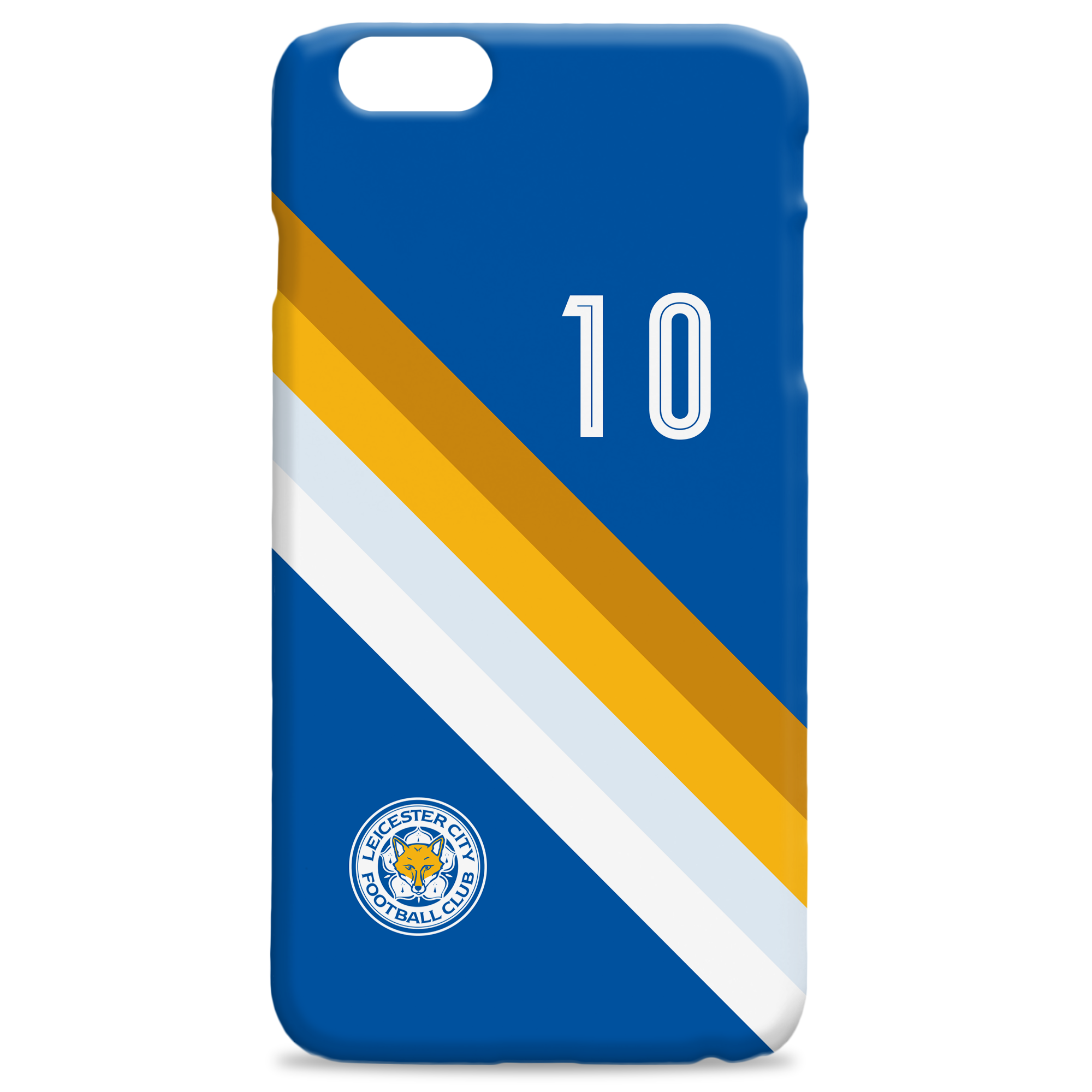 Leicester City FC Stripe Hard Back Phone Case
