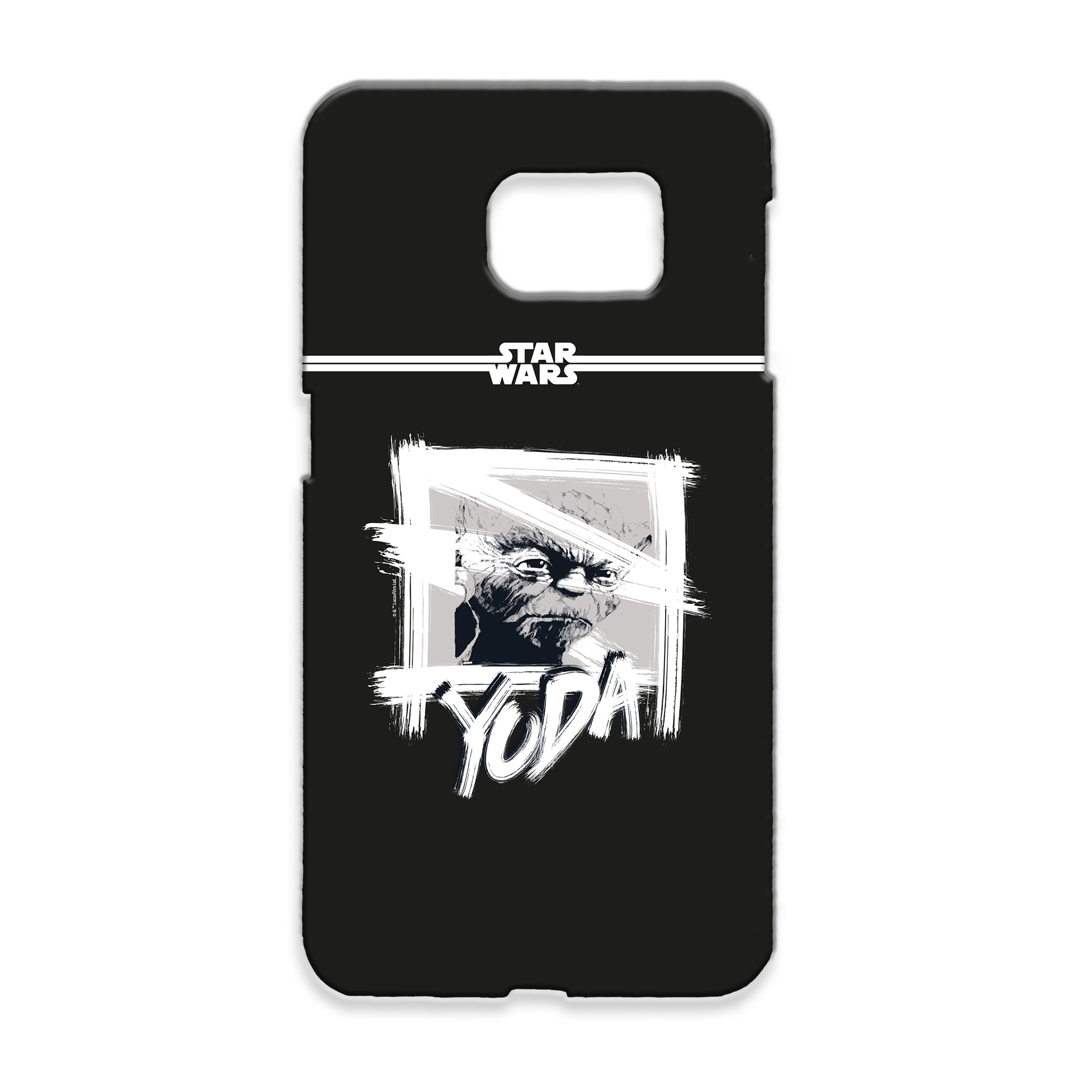 Star Wars Yoda Paint Samsung Phone Case