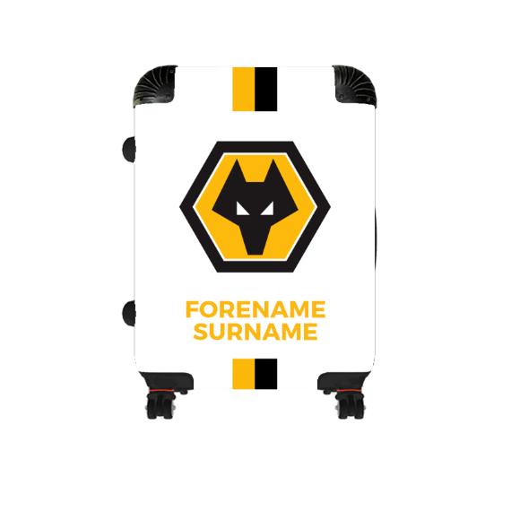 Wolverhampton Wanderers FC Stripe Cabin Suitcase