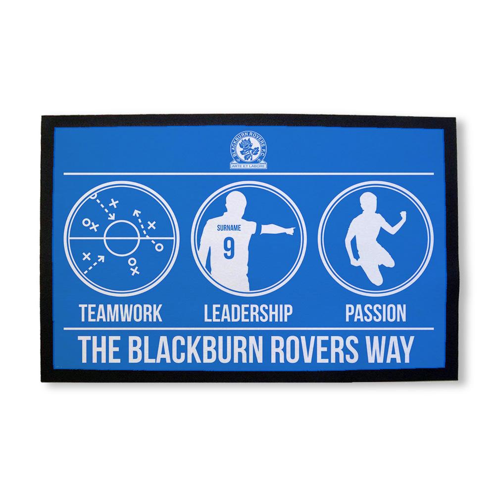 Blackburn Rovers FC Way Door Mat