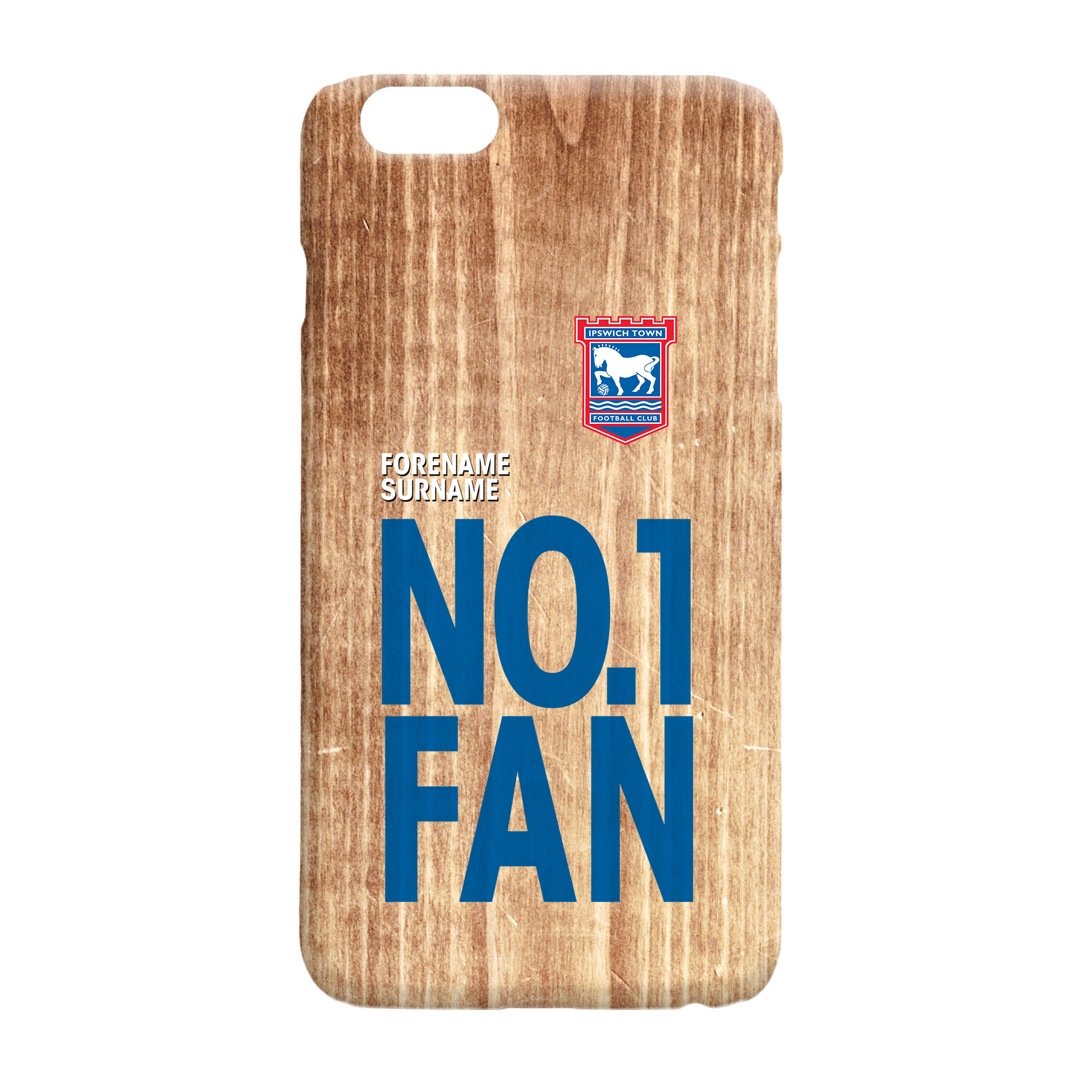 Ipswich Town FC No 1 Fan Hard Back Phone Case