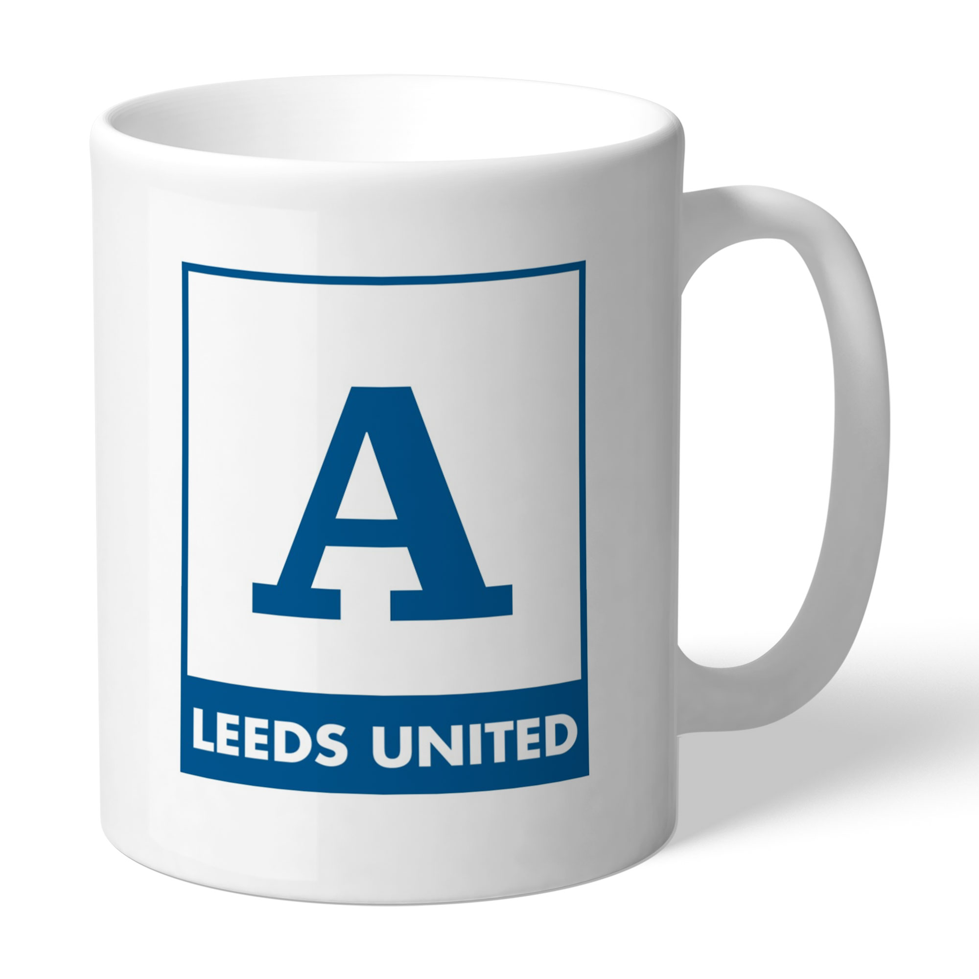 Leeds United FC Monogram Mug