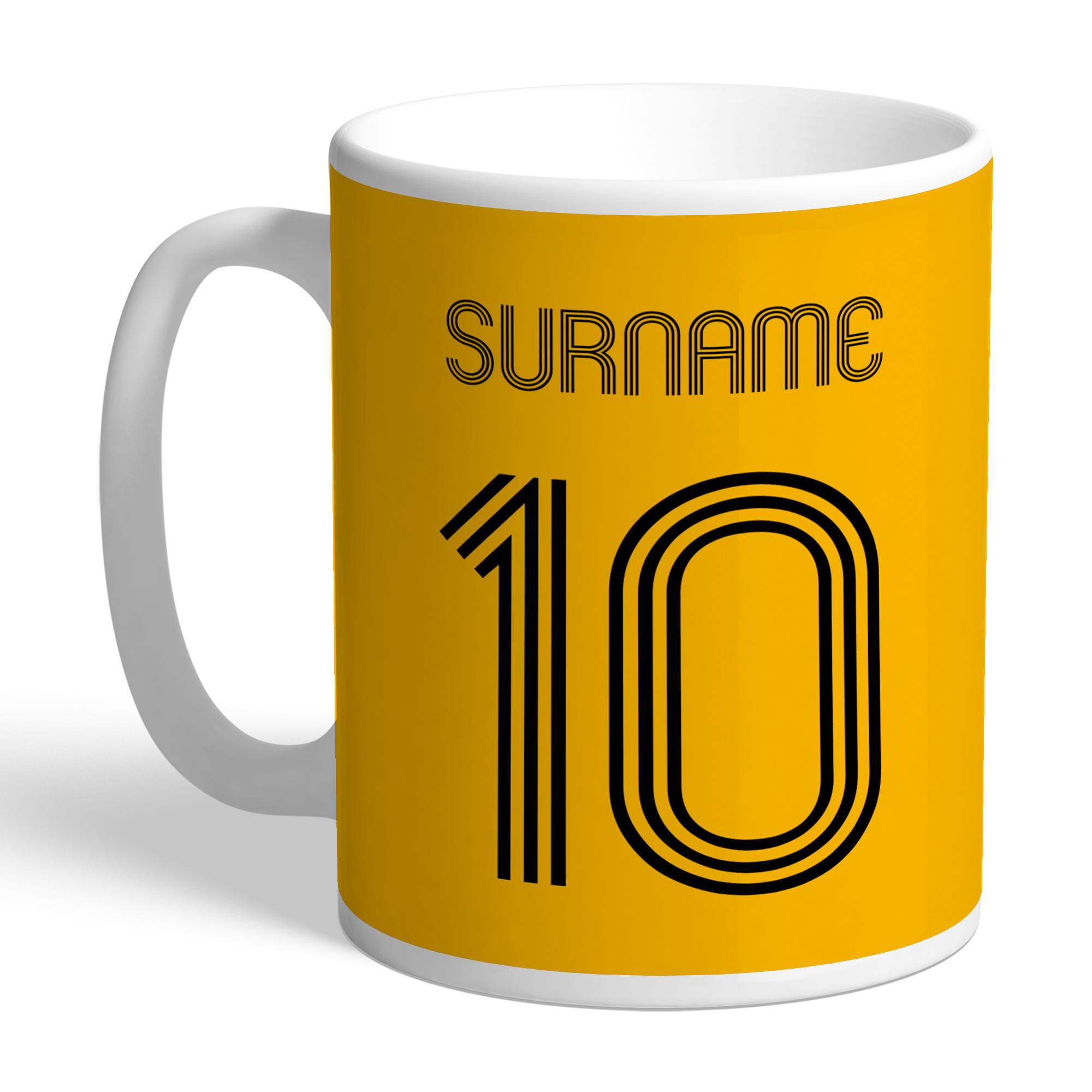 Wolverhampton Wanderers FC Retro Shirt Mug