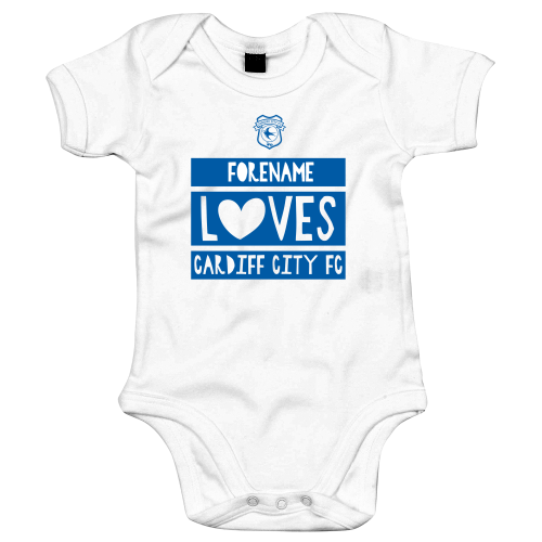 Cardiff City Loves Baby Bodysuit