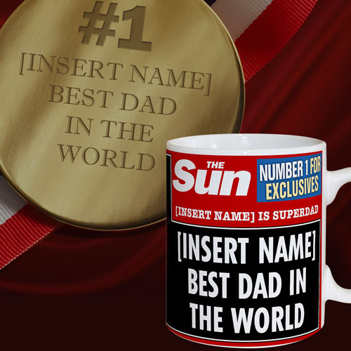 The Sun Best Dad Mug