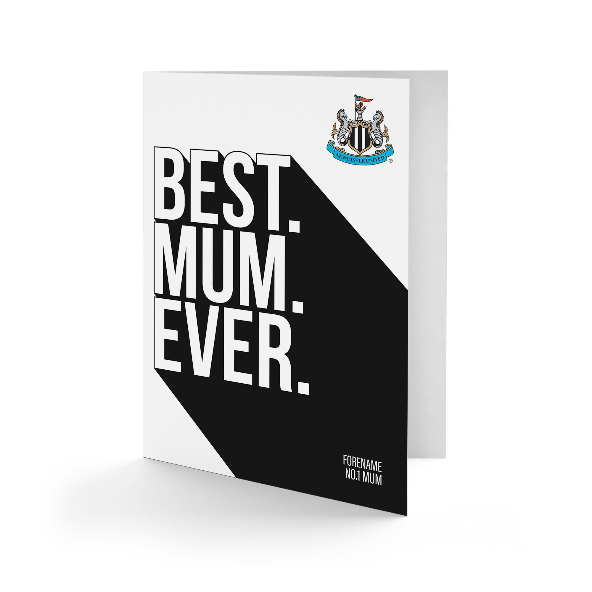 Newcastle United FC Best Mum Ever Card