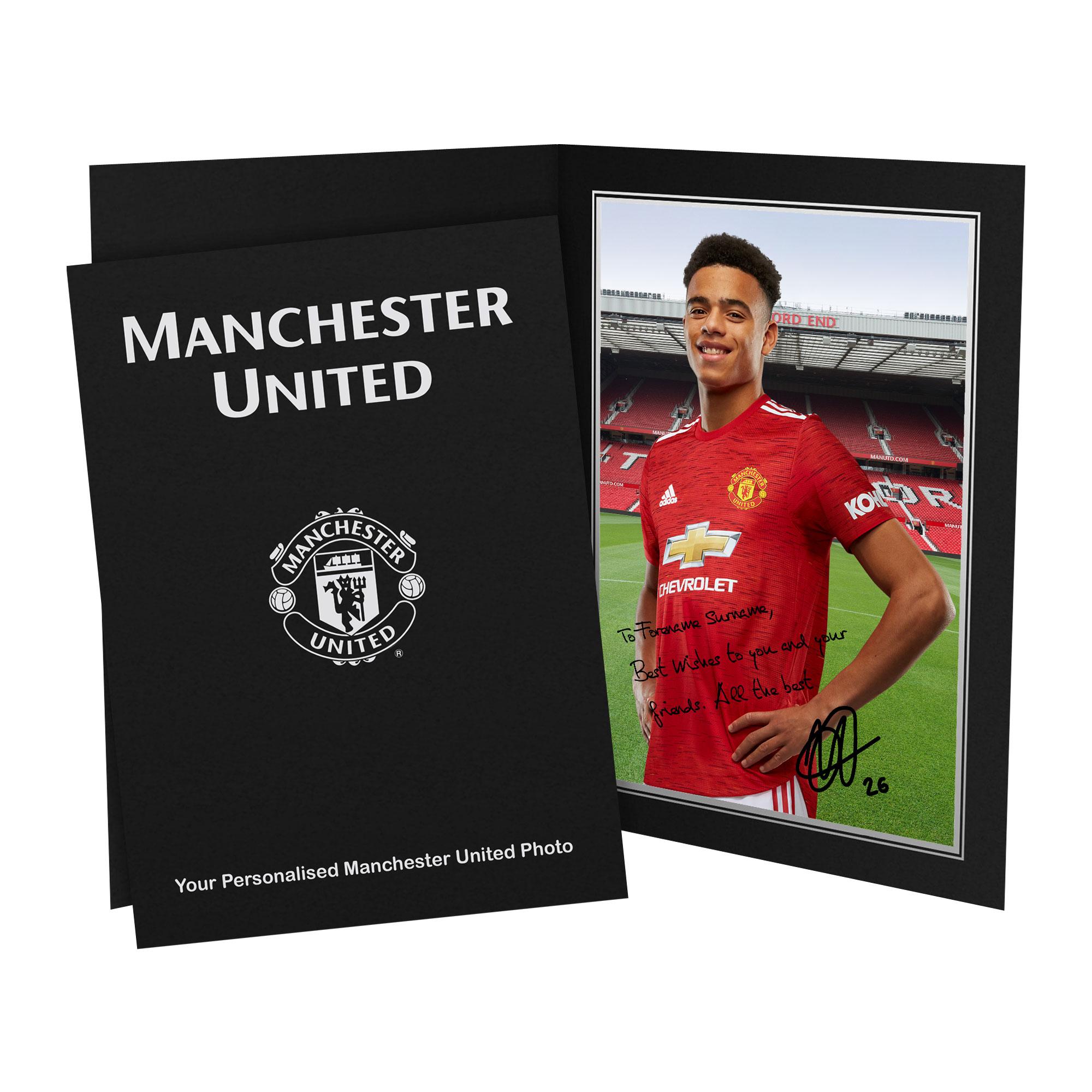 Manchester United FC Greenwood Autograph Photo Folder