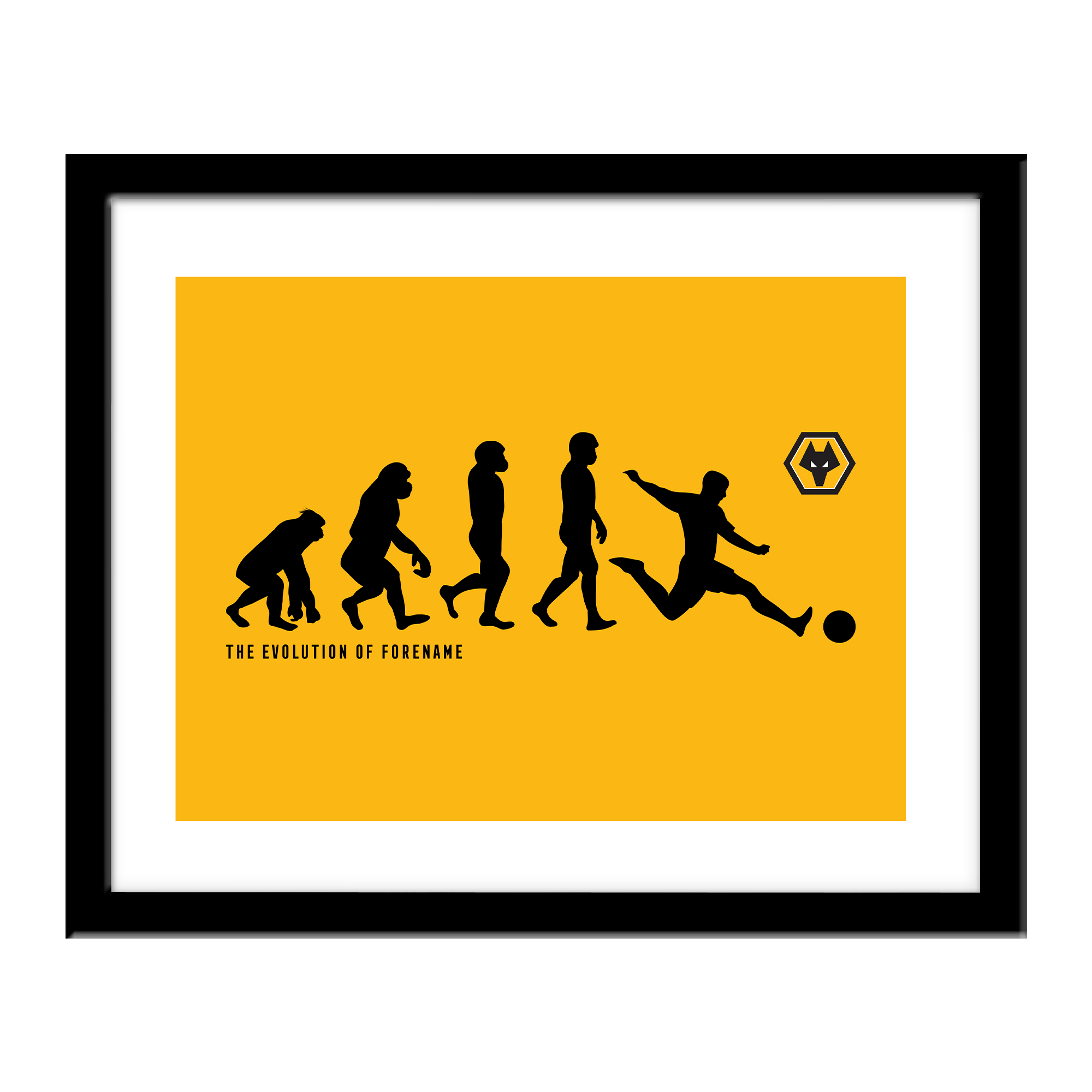 Wolverhampton Wanderers FC Evolution Print