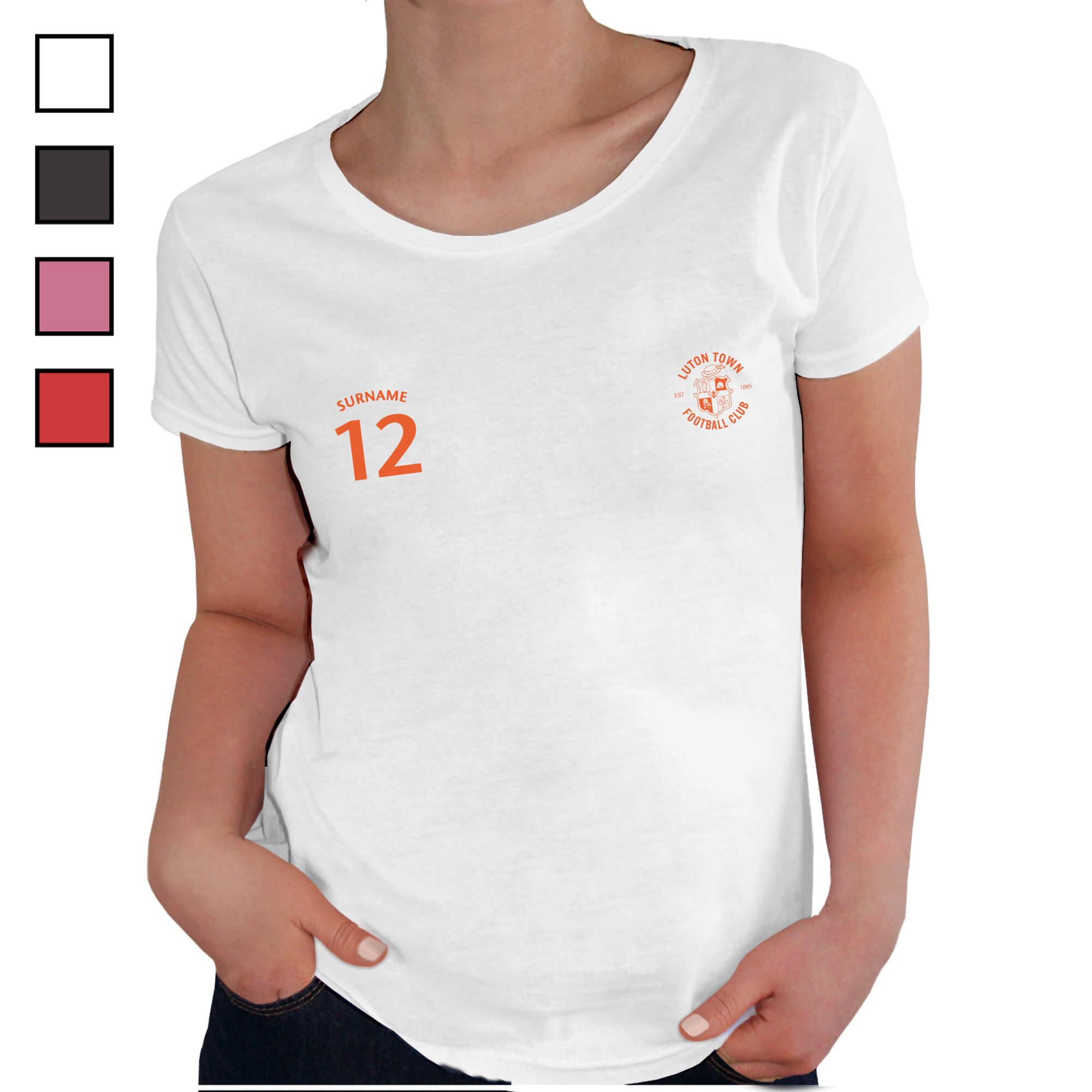 Luton Town FC Ladies Sports T-Shirt