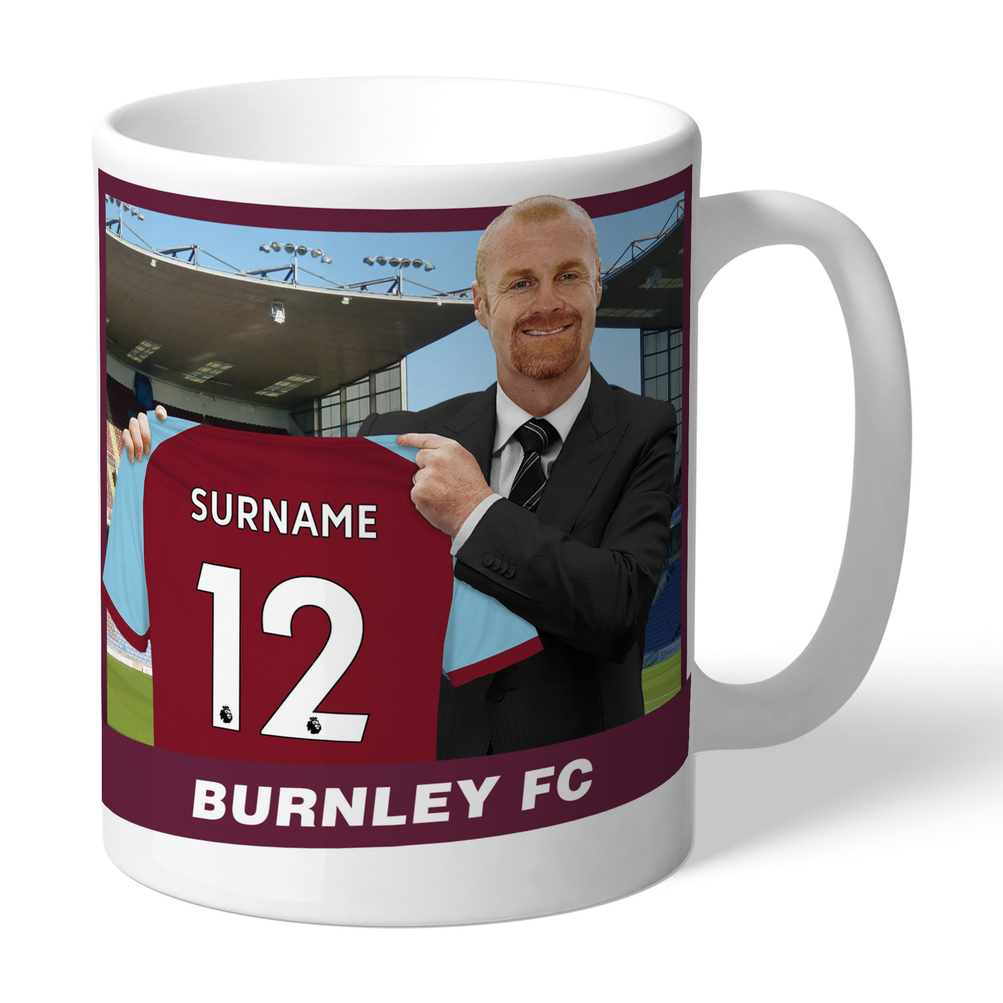 Burnley FC Manager Mug