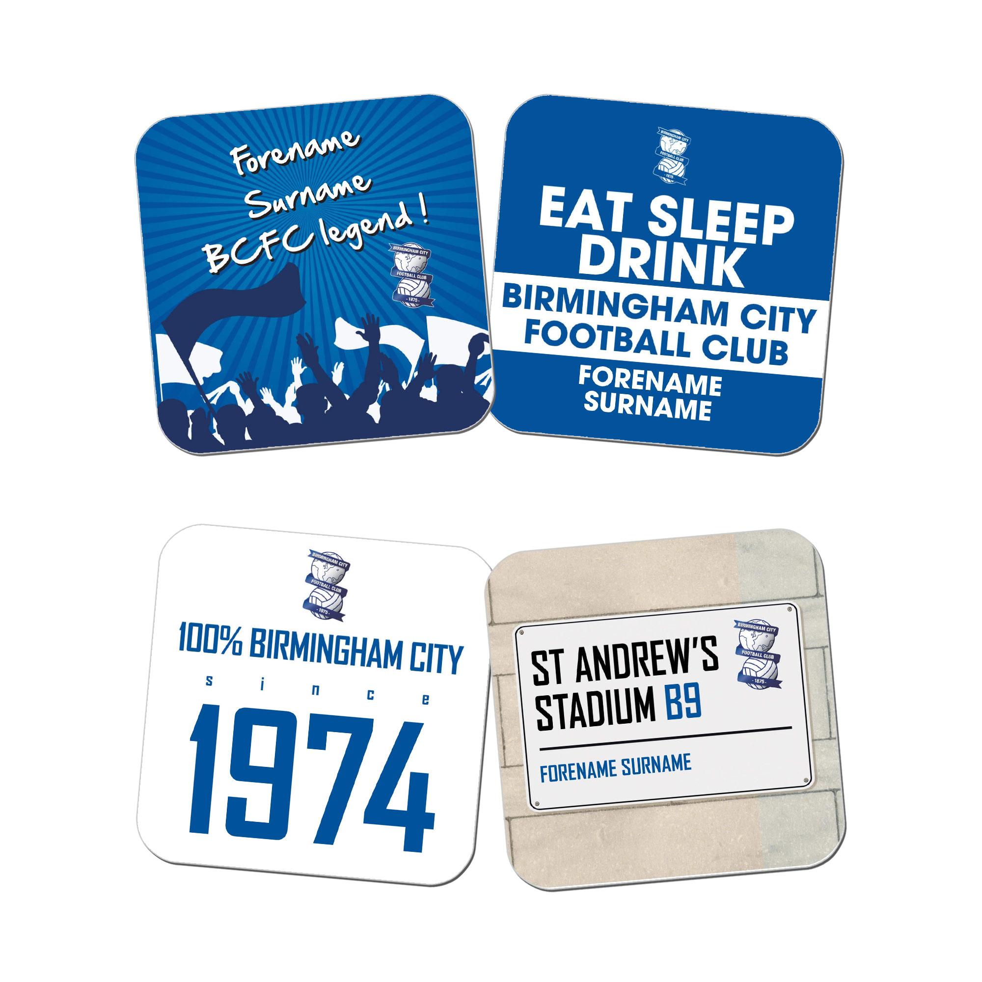 Birmingham City FC Coasters