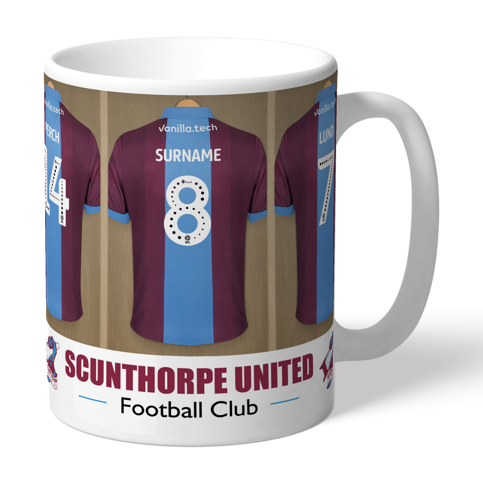 Scunthorpe United FC Dressing Room Mug