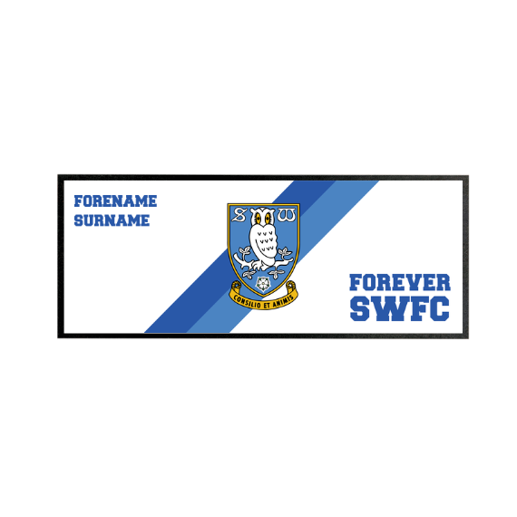 Sheffield Wednesday FC Forever Regular Bar Runner