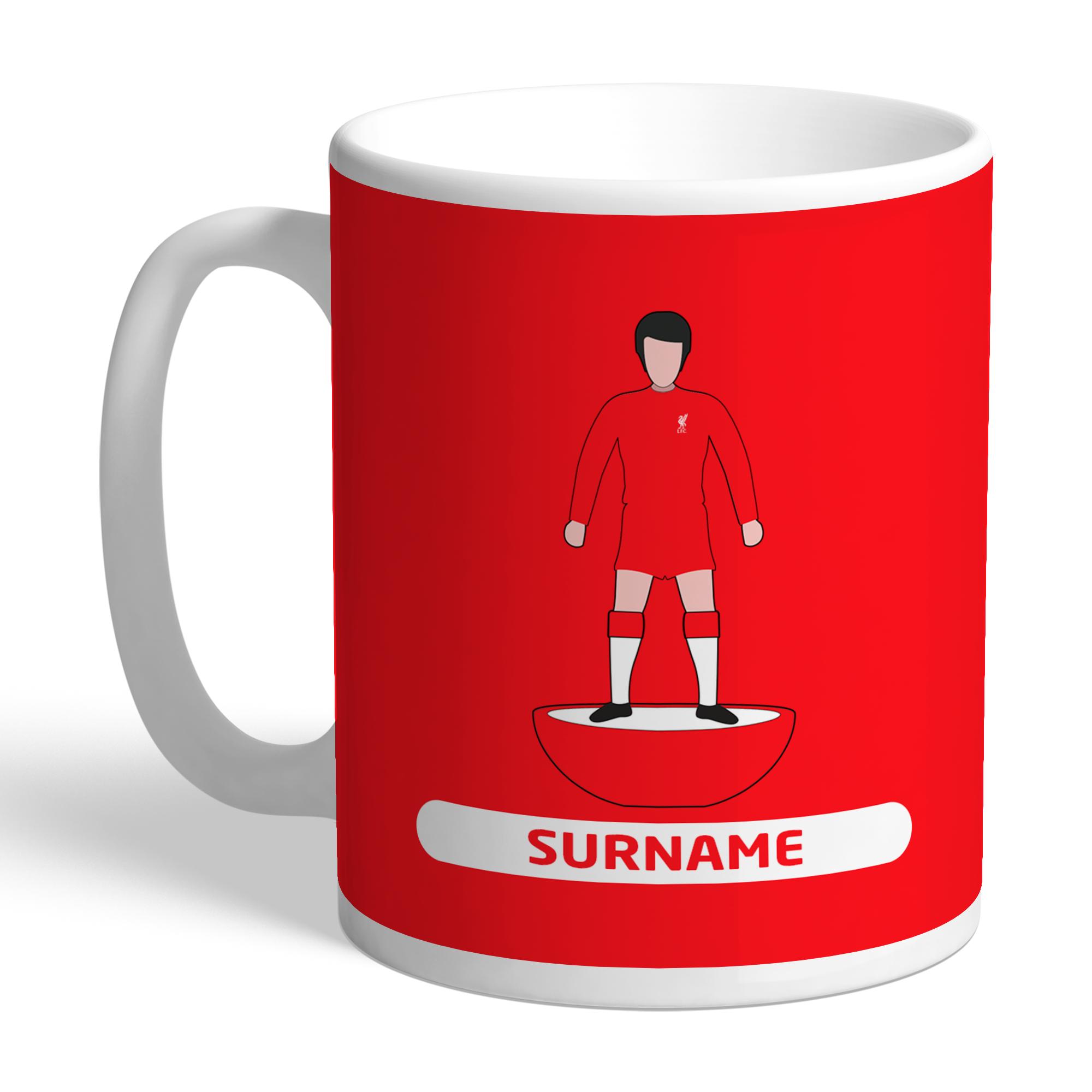 Liverpool FC Player Figure Mug