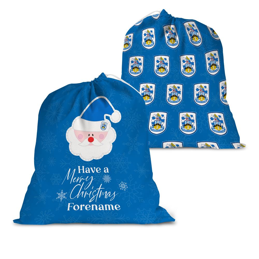 Huddersfield Town AFC Merry Christmas Santa Sack