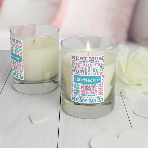 Best Mum - Candles