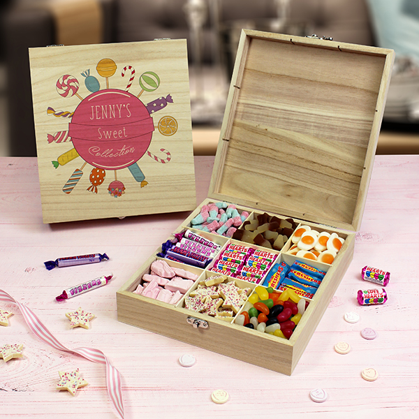 Pink Collection - Wooden Sweet Box