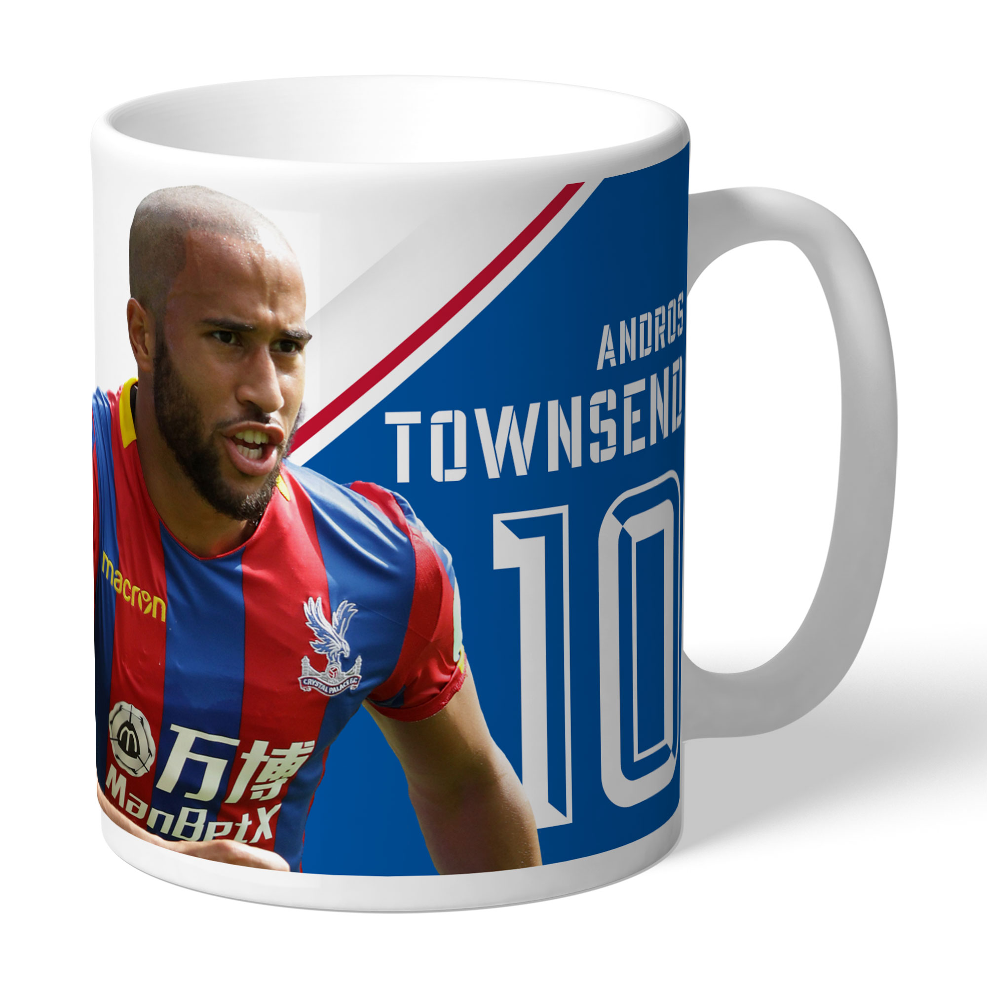 Crystal Palace FC Townsend Autograph Mug