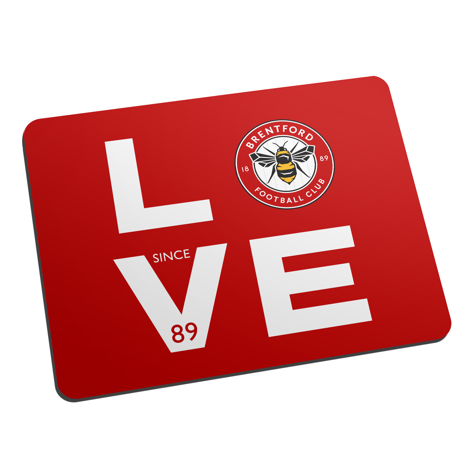 Brentford Love Mouse Mat