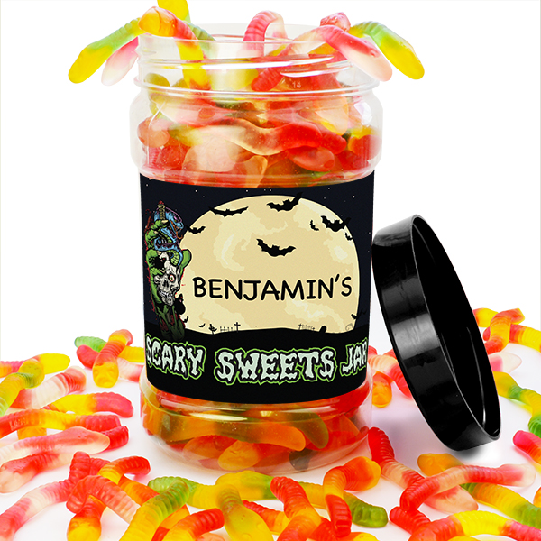 Jelly Snakes Sweet Jar