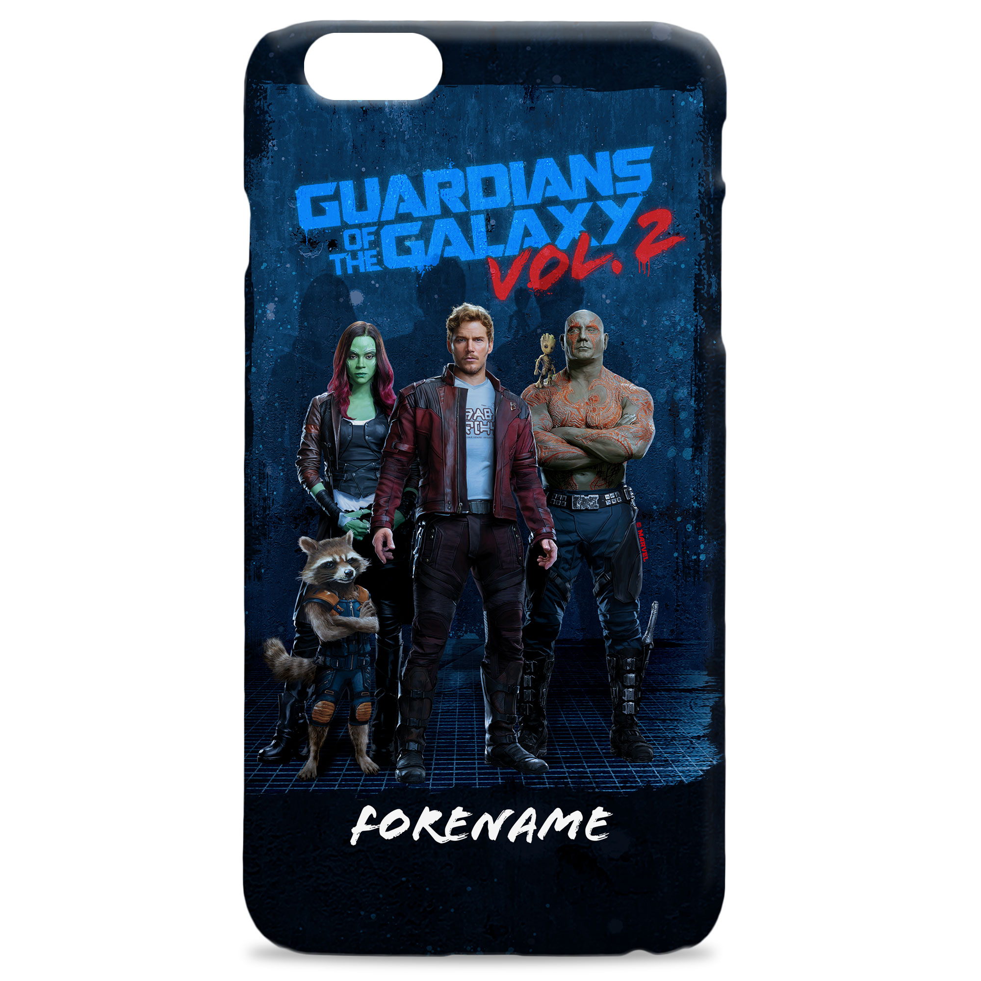 Marvel Guardians of the Galaxy Grunge Phone Case