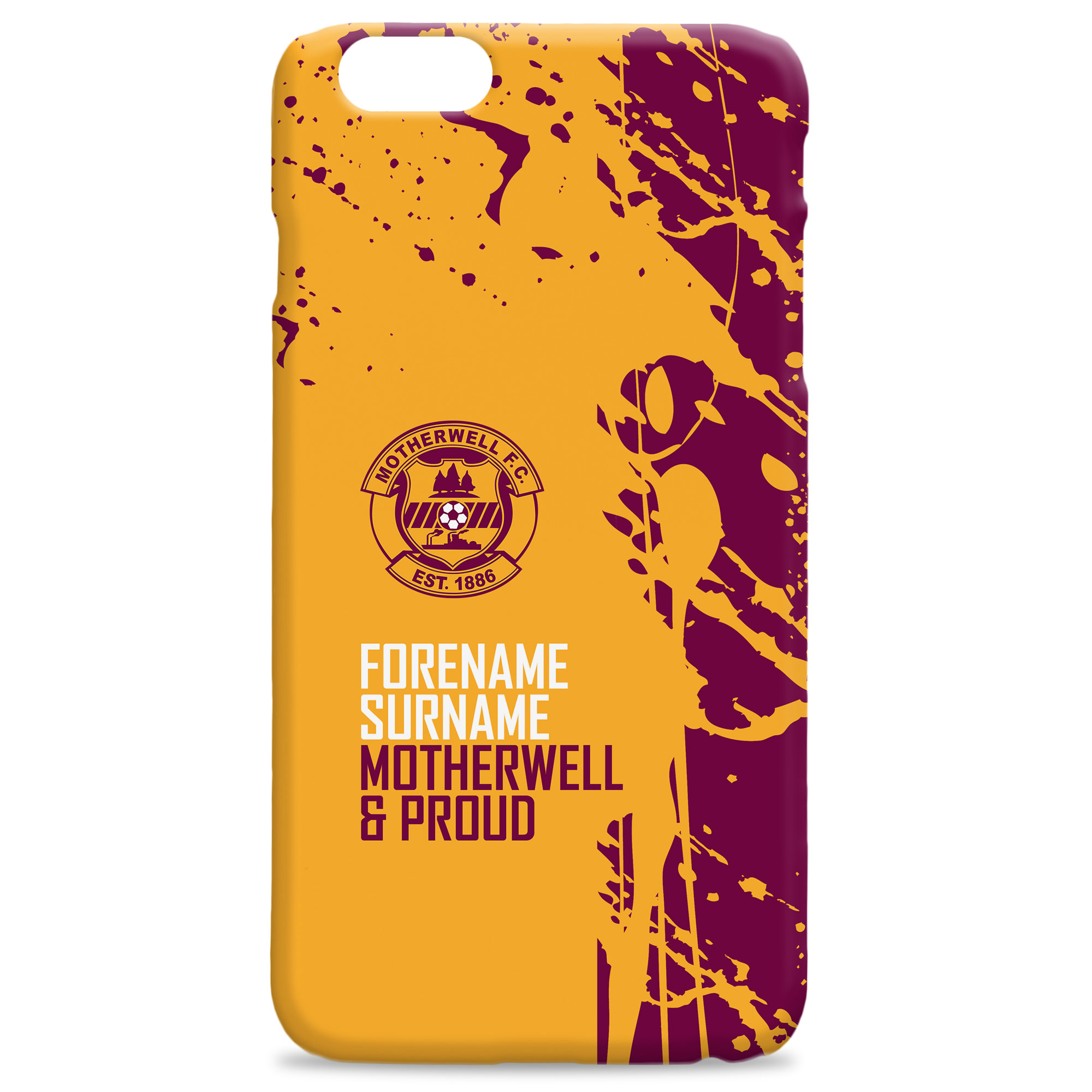 Motherwell FC Proud Hard Back Phone Case