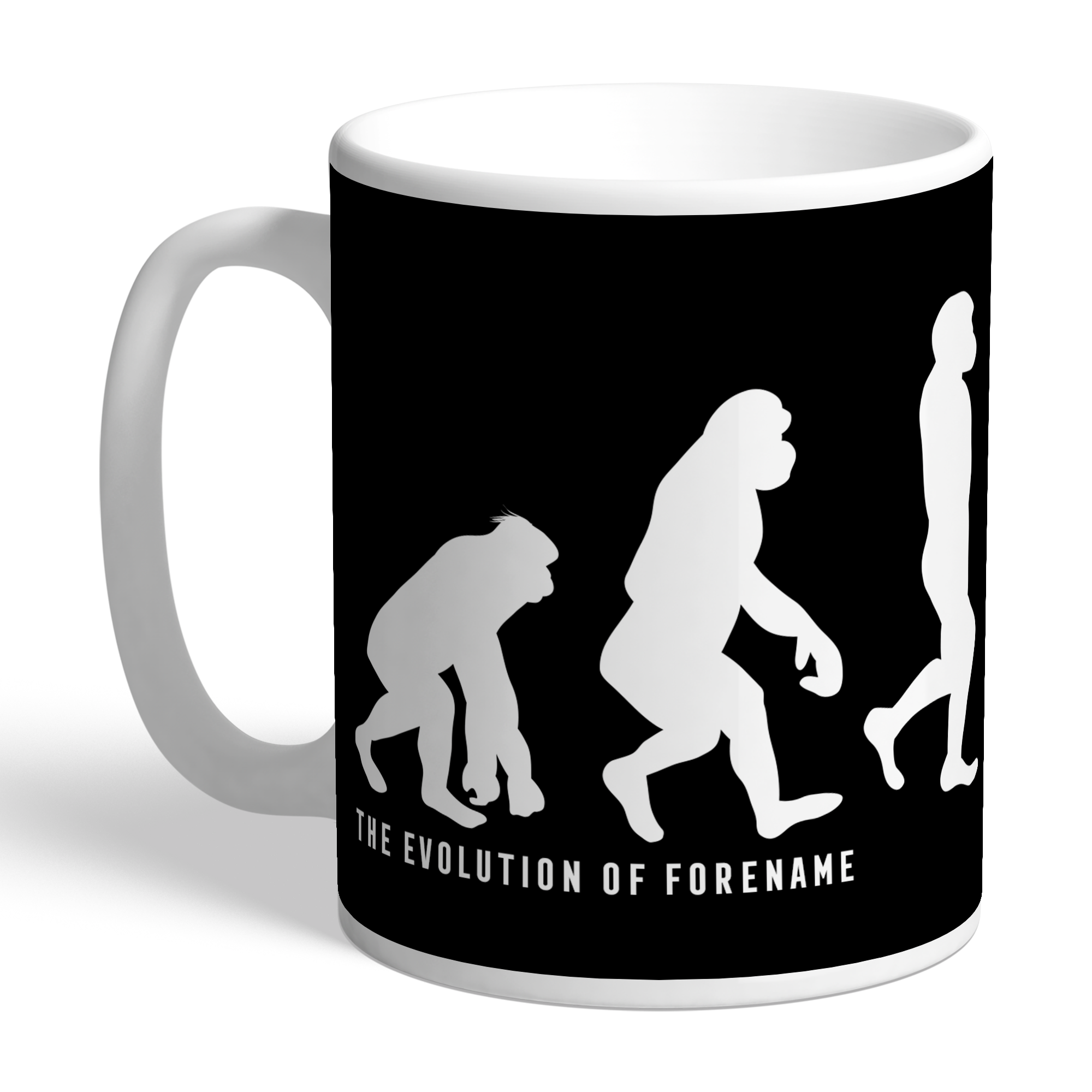 Derby County Evolution Mug
