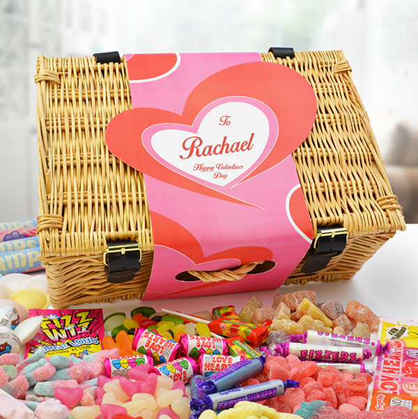 LOVE' Lolly May Valentine Sweet Hamper