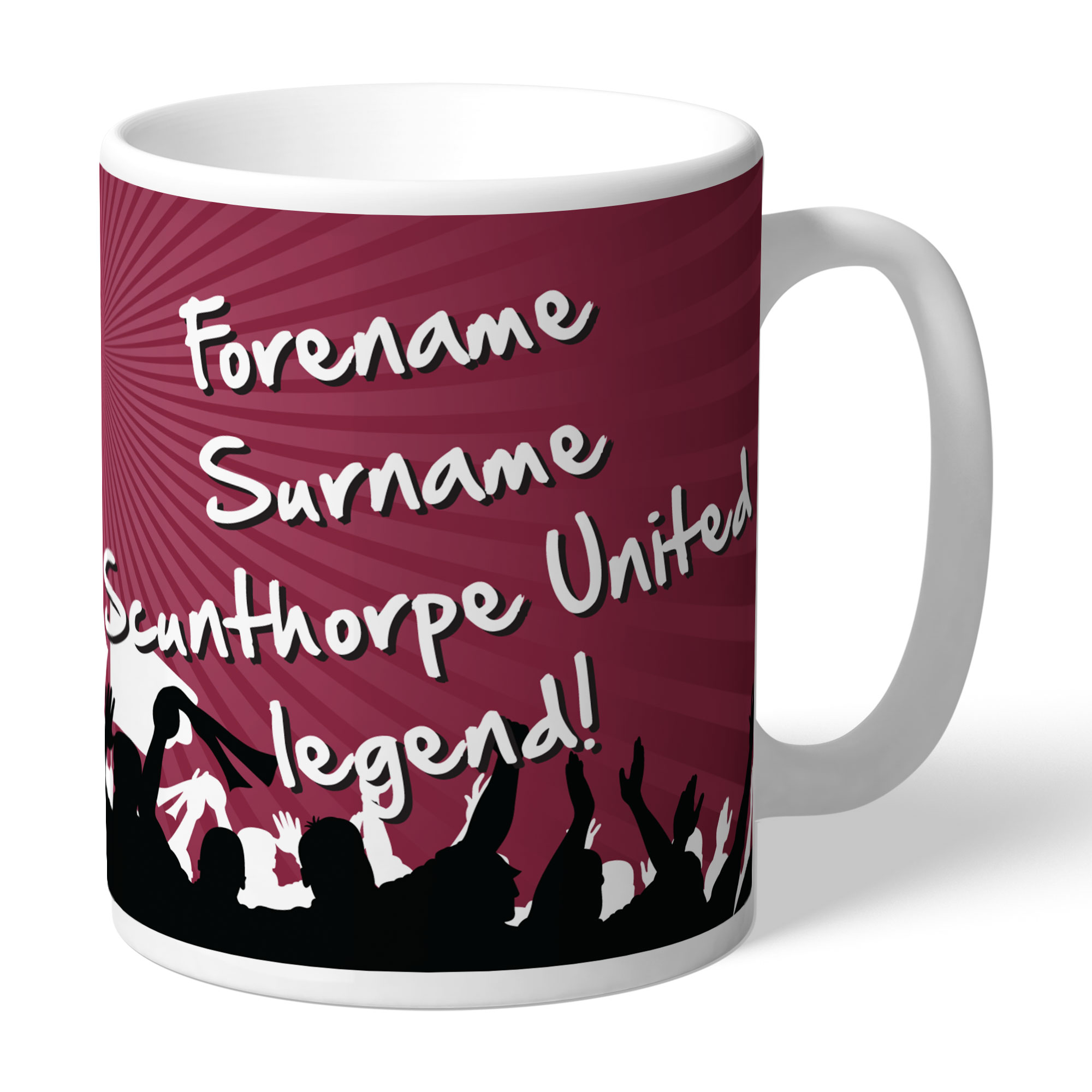 Scunthorpe United FC Legend Mug
